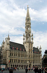 Hotel de Ville in Grand Place, Brussels - image by Alina Zienowicz
