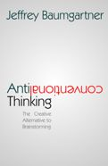 Book cover: antifconventional thinking