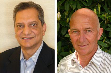 Hans Begeer and Alvito de Souza