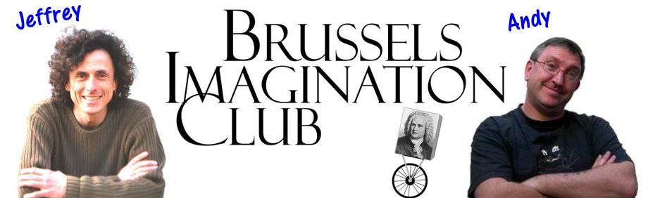 Jeffrey Baumgartner and Andy Whittle, founders of the Brussels Imagination Club